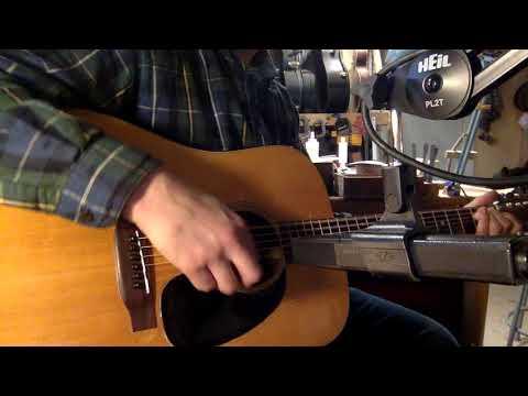 Jake Demos A 1971 Martin D-18 Dreadnought Guitar