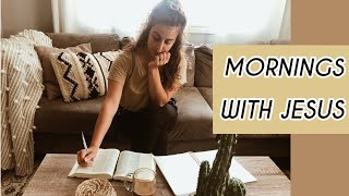 Morning Routine // Jesus Time