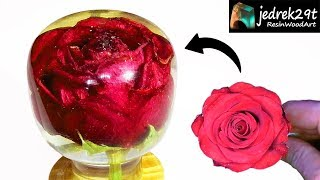 Rose in RESIN / ART RESIN