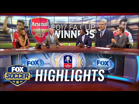 Kate Abdo and crew discuss Arsenal's win over Chelsea  201617 FA Cup Final Highlights