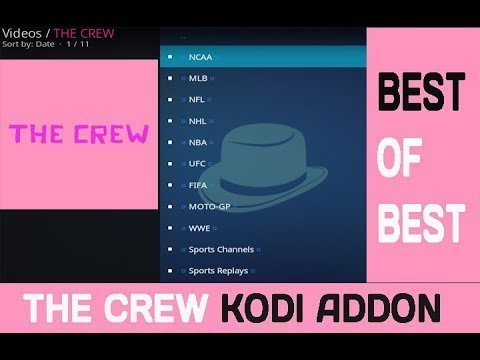 how to install the crew kodi addon from YouTube · Duration:  4 minutes 37 seconds