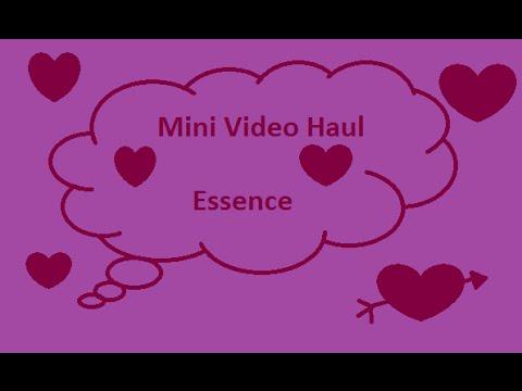 Mini Haul Essence - Gigia Makeup