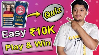 Play Quiz And Earn Money 🤑  Earn Real Cash Quiz Game   Easy Quiz & Win Big Money   Fangame Reviews 💥 screenshot 5