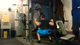 Bulgarian Style Training- Squat, OHP, Weighted Pull Up