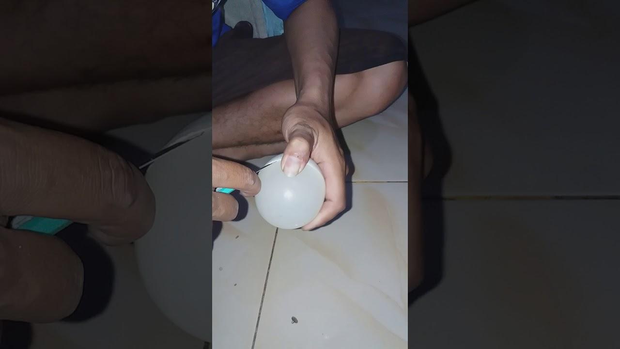 Cara Membuka Casing Lampu Led Part 1 Youtube