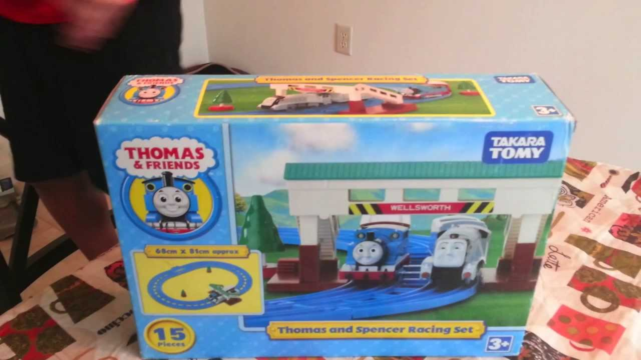 My Day Out with Thomas and Spencer Racing Set Tomy Takara ...