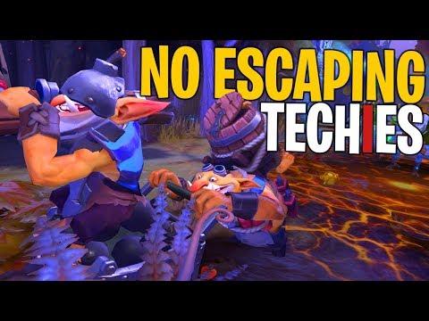 No Escaping Techies - DotA 2