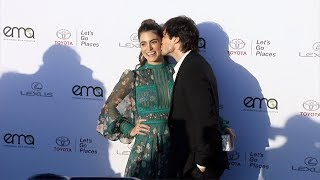 Nikki Reed and Ian Somerhalder EMA's 27th Annual Awards Gala Green Carpet