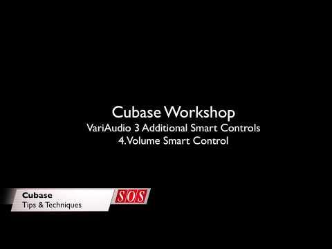 Cubase VariAudio 3 - Volume Smart Control