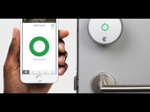 August Access will unlock your doors for in home deliveries