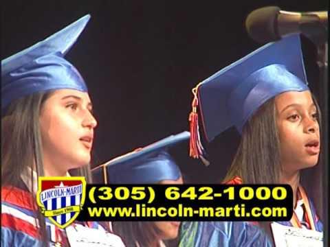 Lincoln Marti Charter Schools Little Havana 5th and 8th Graduation 2017