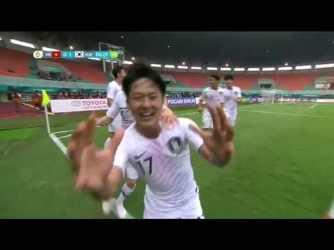 [HIGHLIGHTS] Vietnam 1-3 Republic Of Korea (2018 Asian Games: Semi-final)