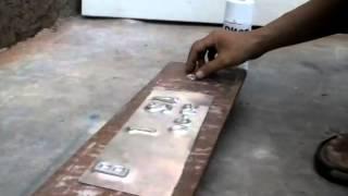 Cara membuat plat nomor (TNKB)