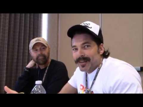 Wynonna Earp - Tim Rozon, Beau Smith Interview (Comic Con 2016)