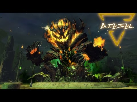 Mad king visszatért! | Guild Wars 2 - Halloween | Diesel