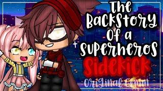 ✨•एक सुपरहीरो की साइडकिक की बैकस्टोरी•✨| गचा लाइफ मिनी मूवी | ग्लम्म