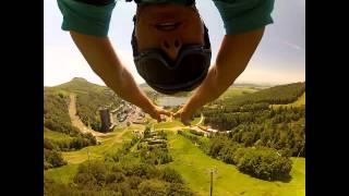 GoPro POV Tyrolienne Fantasticable Super-Besse