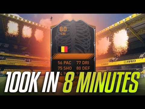 HOW I MADE 100K IN 8 MINUTES!? - #FIFA17 Road to Glory #29