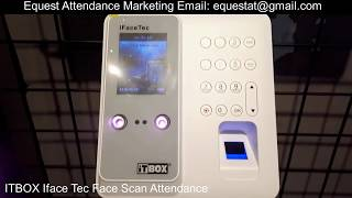 Itbox Iface Tec Face Scan Time Attendance Time Recorder