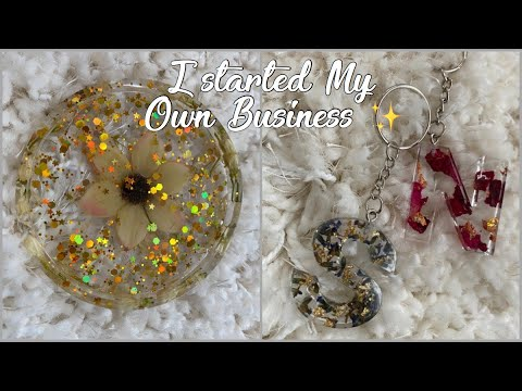 I STARTED MY OWN BUSINESS ✨|| Resin Crafts – lovechildluxe.shop ❤️