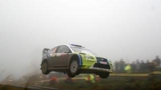 Ford Focus WRC car driven by Chris Harris - www.autocar.co.uk