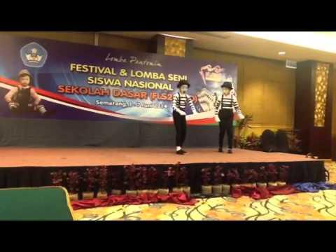 finalis Pantomim Tingkat nasional Dari SDN.3 Gumawang Belit
