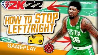 NBA 2K22 How t๐ Stop LEFT RIGHT Cheese : On Ball Defense Tutorial 2K22