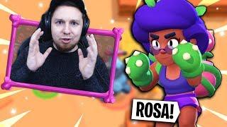 """NOWY BRAWLER """"ROSA"""" w Brawl Stars!"""