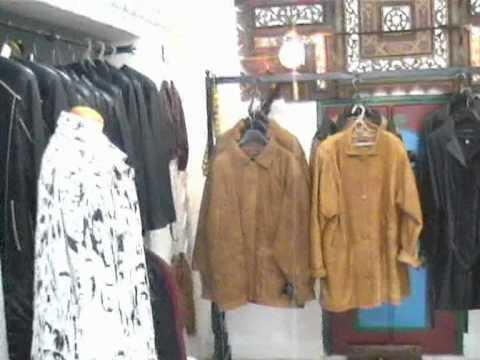 Veste cuir maroc