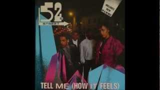 """52nd STREET - Tell Me How It Feels - 12"""" M&M remix 1985- Soul Funk Dance Rare 80s"""