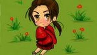 How to draw Chibi China from Hetalia