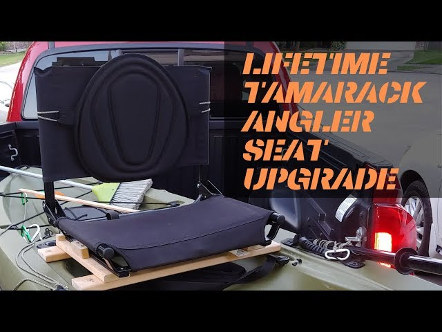 Lifetime Tamarack Kayak Seat Upgrade