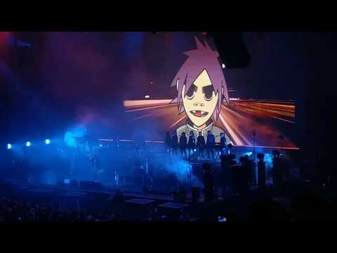 Gorillaz Live at Key Arena Seattle, WA 9/30/17