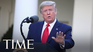 President Trump and Members of the Coronavirus Task Force Hold a Press Briefing | LIVE | TIME