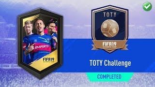 TOTY CHALLENGE SBC! (CHEAPEST SOLUTION) | FIFA 19 Ultimate Team