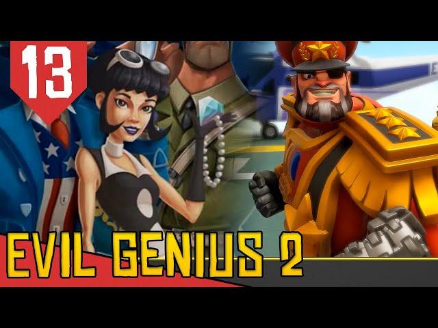 INVASÂO da SYMMETRA! - Evil Genius 2 Ivan Vermelho #13 [Gameplay PT-BR]