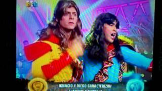 Ignacio Baladan y Diego chavarri Caracterizan E Imitan ha NUBELUZ 26/02!&