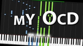 my ocd rhett link piano tutorial synthesia