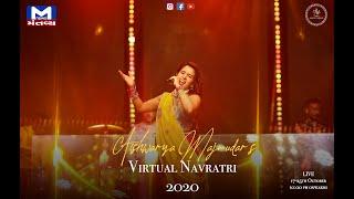 Virtual Navratri 2020 | Aishwarya Majmudar | Mantavya News | 4th Nortu 💜
