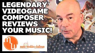 David Wise reviewing MUSIC WEEKLIES CHALLENGE Oct 2020