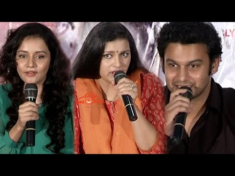Ishq Wala Love Press Meet - Renu Desai, Akira Nandan, Adinath Kothare, Sulagna Panigrahi