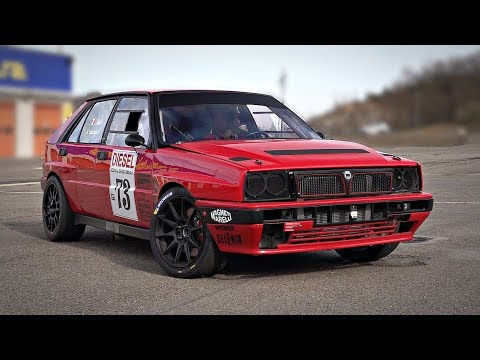 500+HP Lancia Delta Integrale TRACK BEAST With Sequential Gearbox | OnBoard Feat. Turbo Sounds