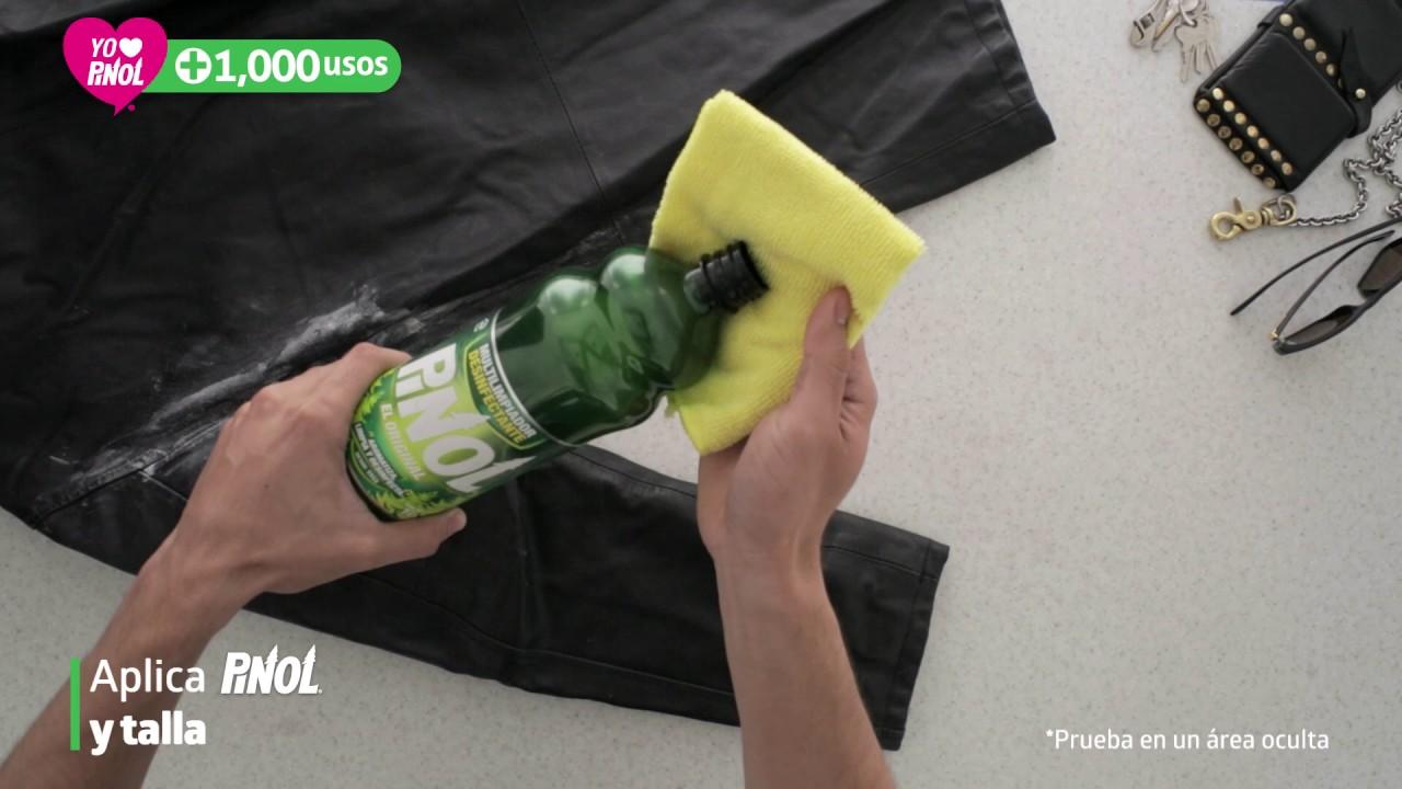 diseño encantador garantía de alta calidad descuento Uso #259 - Pinol quita moho de mi chamarra de piel