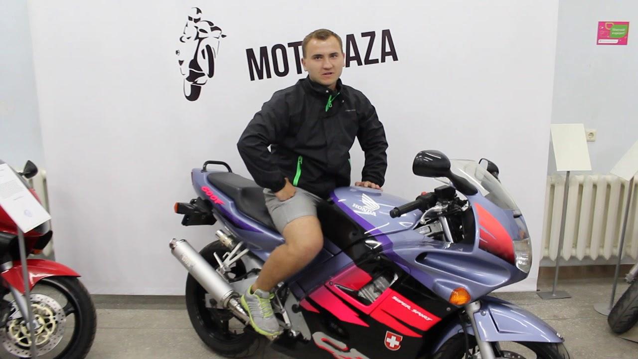 МОТОБАЗА. Клиент из Крыма забирает HONDA CBR 600 F4i. WWW.MOTOBAZA .