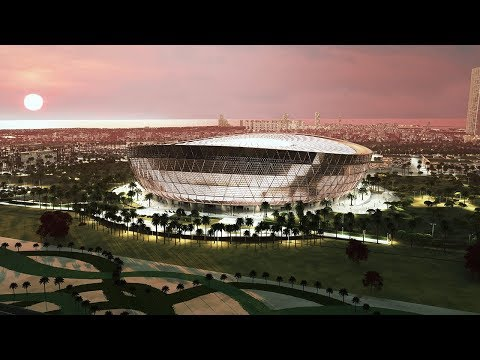 """Foster + Partners Design a """"Glittering"""" Stadium for Qatar's 2022 World Cup"""