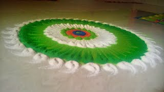 Simple and unique Rangoli Design for Diwali | इतनी सरल रंगोली की एक छोटा बच्चा भी बना ले