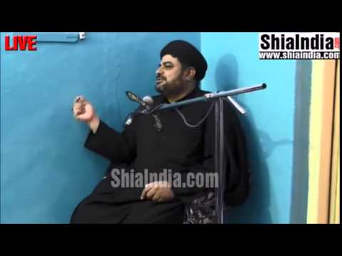 Maulana Luqman Hussain Moosavi Hadees 2nd Rabil-ul-awwal near matakhidki 1435