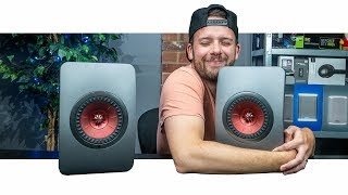 These Speakers Sound SO GOOD!   KEF LS50 Wireless Speakers
