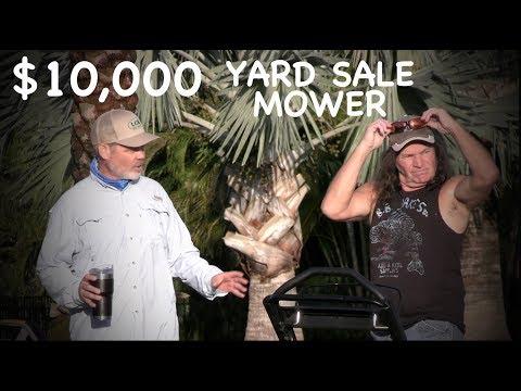 Famous Lawn Mowers Yard Sale PRANK!!! // $10K TimeMaster?