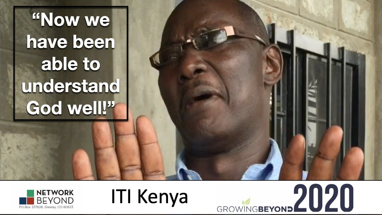 "Deaf ITI Impact 2020 ""Now we have been able to understand God well!"" Joseph from Kenya"